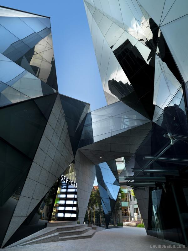 马来西亚吉隆坡升喜廊商场设计 购物中心设计 商场设计
