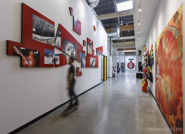加州钻石生活品牌办公室设计 美国 办公空间设计 办公室设计