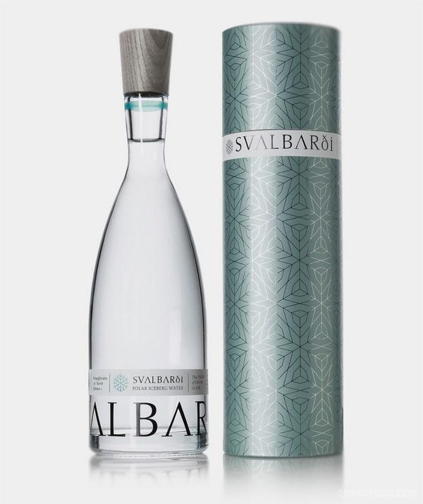 挪威 Svalbarei 冰川水包装设计 网站设计 标志设计 包装设计 VI设计 APP设计