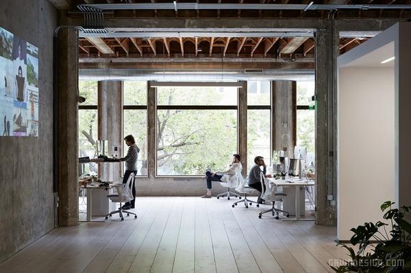 VSCO 奥克兰总部办公室设计 美国 办公空间设计 办公室设计