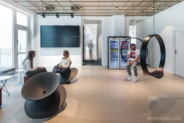 瑞典斯德哥尔摩红牛公司办公室设计 办公空间设计 办公室设计