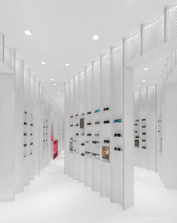 上海港汇恒隆广场 Coterie 眼镜店设计 眼镜店设计 店面设计 商业空间设计 中国 专卖店设计 上海