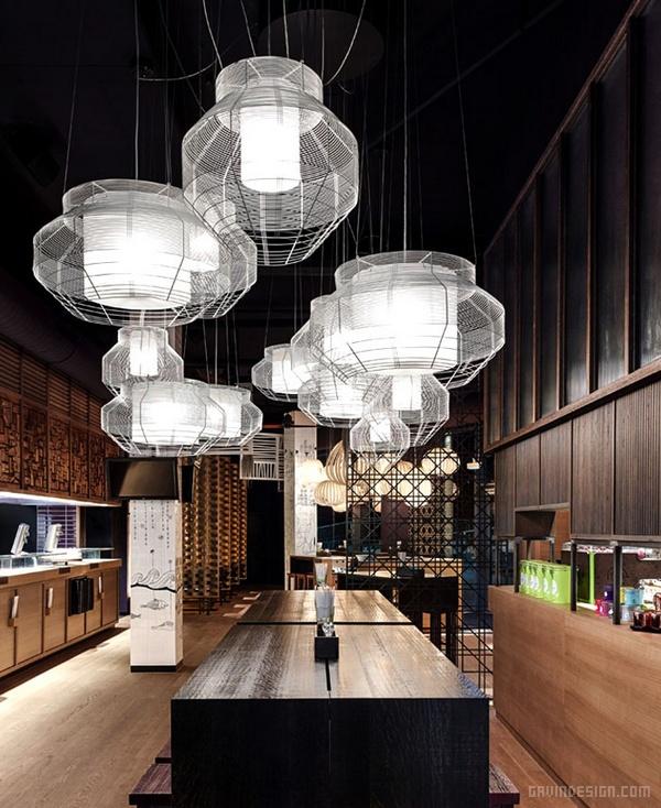 德国斯图加特 GinYuu 概念餐厅设计 餐厅设计 德国 店面设计 商业空间设计