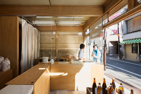 东京 Okomeya 米店设计 米店设计 日本 店面设计 商业空间设计 专卖店设计