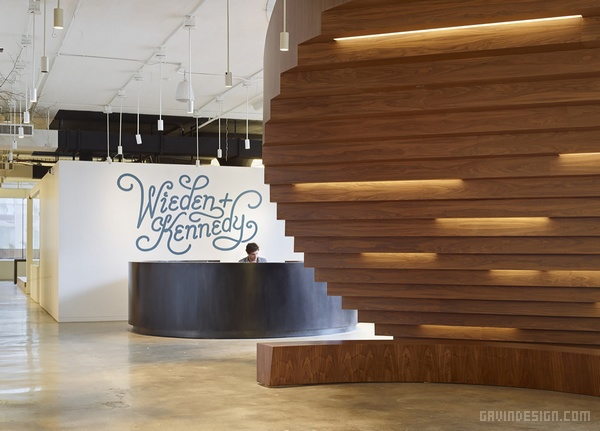 Wieden + Kennedy 波特兰总部办公室设计 美国 办公空间设计 办公室设计