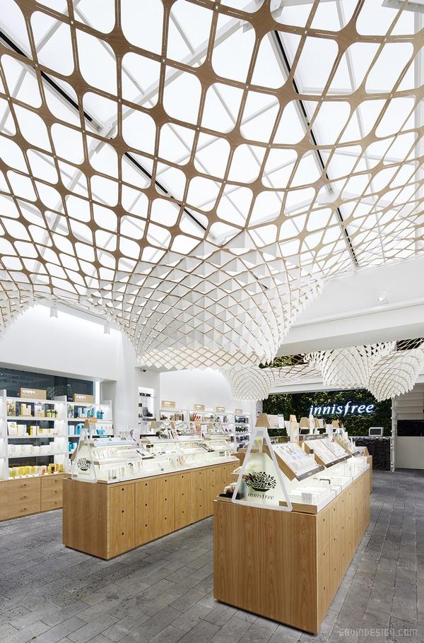 Innisfree(悦诗风吟)首尔旗舰店设计 韩国 旗舰店设计 店面设计 商业空间设计 专卖店设计