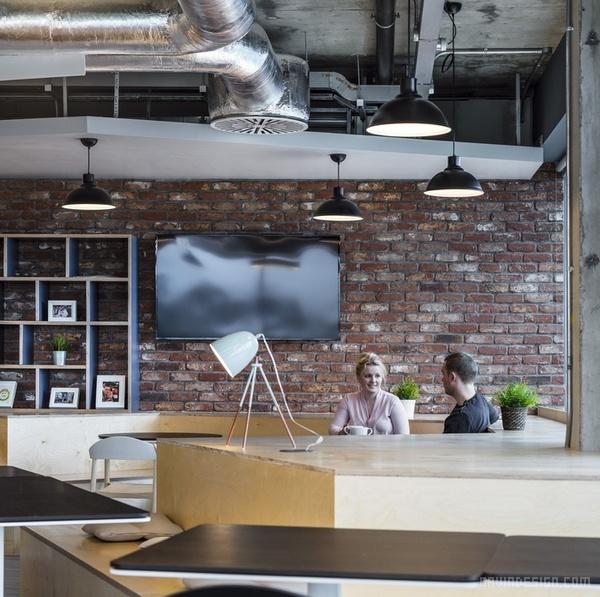 爱尔兰都柏林 APC 办公室设计 办公空间设计 办公室设计