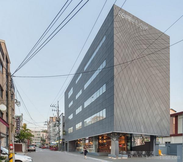 首尔龙山区公报总部设计 韩国 咖啡馆设计 办公室设计