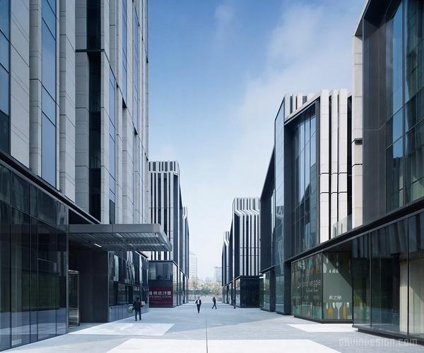 上海 SOHO 复兴广场设计 综合体设计 广场设计 商场设计 办公楼设计 中国 上海
