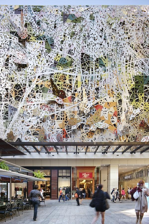 澳大利亚布里斯班 Wintergarden 购物中心设计 购物中心设计 澳大利亚 商场设计