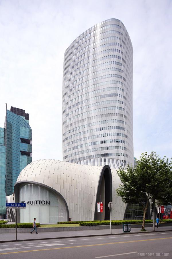 上海虹桥尚嘉中心(LAvenue)建筑设计 购物中心设计 综合体设计 办公楼设计 中国 上海
