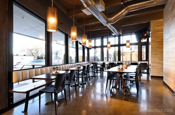 西雅图 Pagliacci Pizza 餐厅设计 餐厅设计 美国 披萨店设计 店面设计 商业空间设计