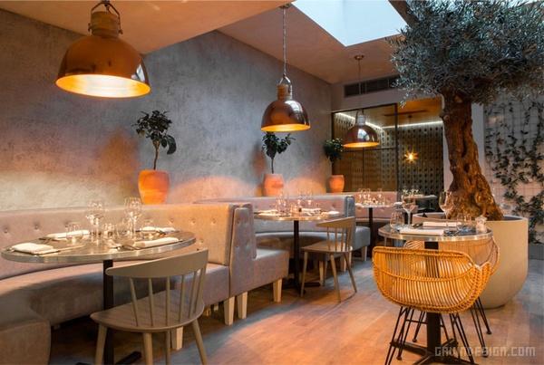 伦敦 Bandol 餐厅设计 餐厅设计 英国 店面设计 商业空间设计
