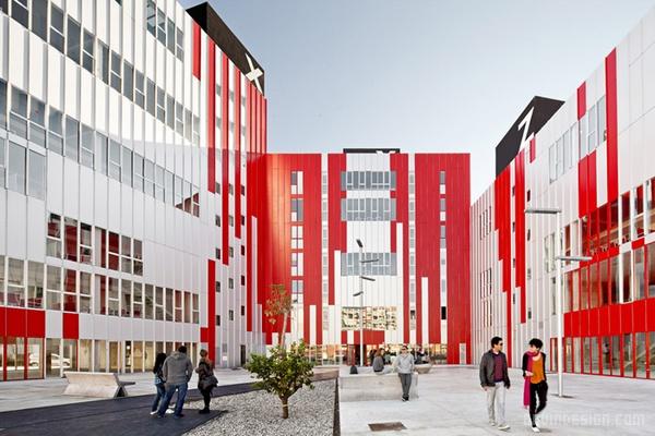 西班牙瓦伦西亚住宅综合体设计 西班牙 综合体设计 商场设计 办公楼设计 公寓设计