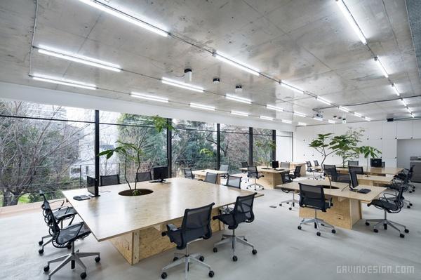 东京 Nakagawa Masashichi 办公室设计 日本 办公空间设计 办公室设计