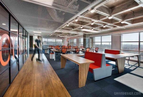 伊斯坦布尔 ING 银行自助餐厅设计 餐厅设计 食堂设计 土耳其