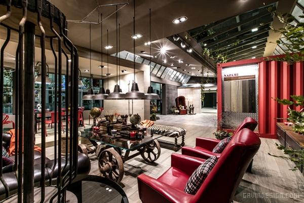 意大利博洛尼亚瓷砖展 Fabuloft 展台设计 意大利 展览设计 展台设计
