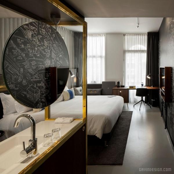 阿姆斯特丹 INK 酒店设计 酒店设计 荷兰