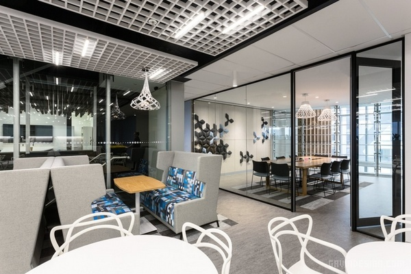 澳大利亚墨尔本市邮局办公室设计 澳大利亚 办公空间设计 办公室设计