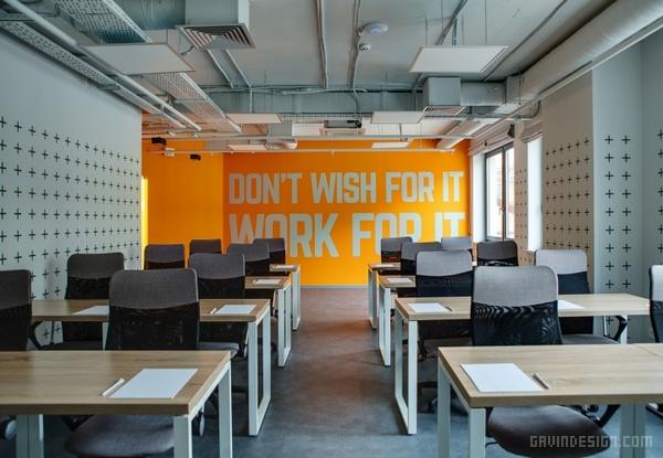乌克兰基辅 HUB 4.0 办公空间设计 办公空间设计 办公室设计