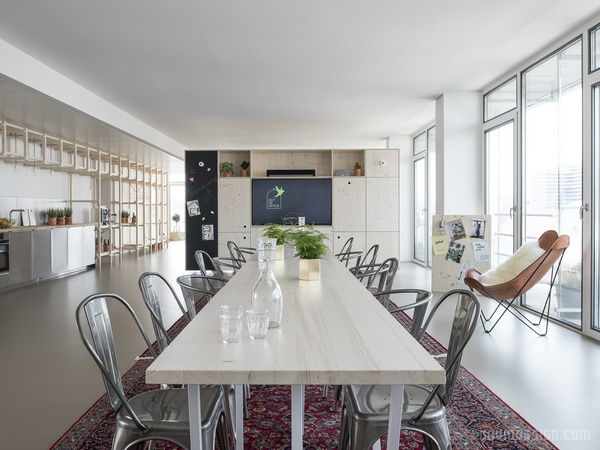 慕尼黑 Out Of Office 办公室设计 德国 办公空间设计 办公室设计