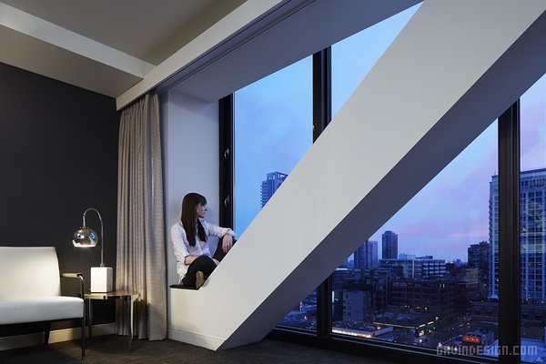 芝加哥 Godfrey 酒店设计 酒店设计 美国