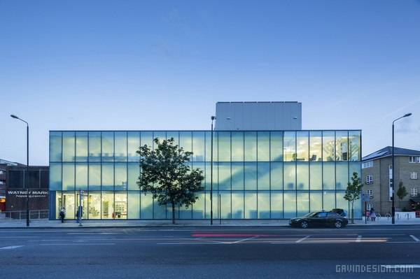 伦敦 Watney 新概念商场设计 购物中心设计 英国 商场设计 商业空间设计