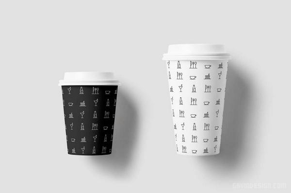 Nord 餐饮品牌SI设计 菜单设计 标志设计 店面设计 图标设计 VI设计 SI设计