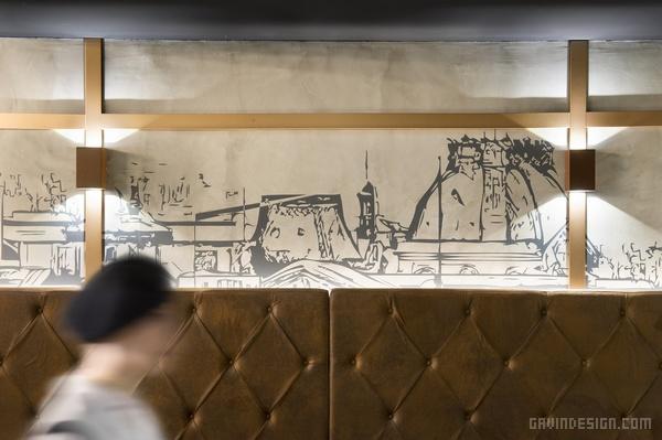 巴塞罗那 Madeleine Mon Amour 餐厅设计 餐厅设计 西班牙 店面设计 商业空间设计