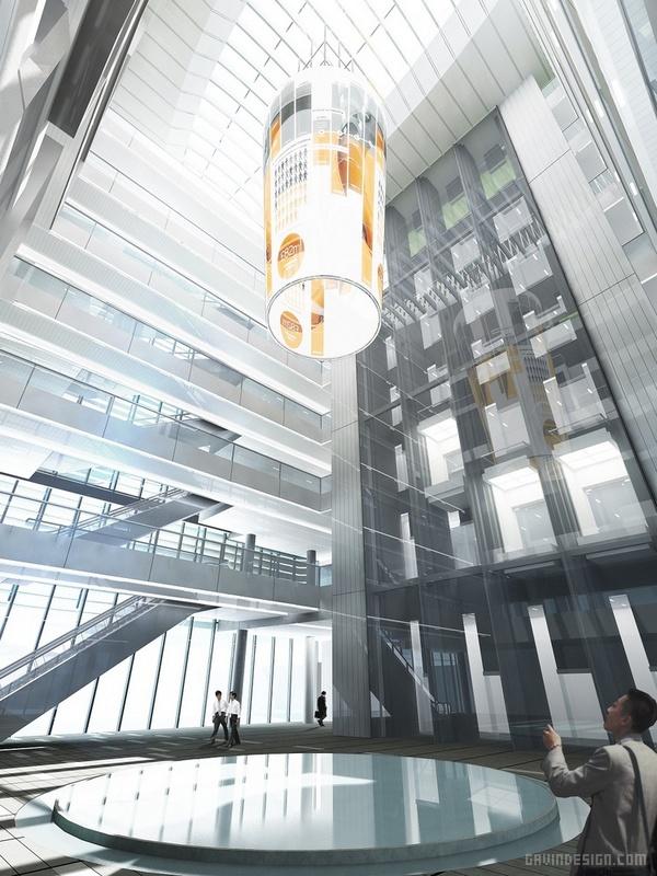 北京新浪全新总部大楼设计 北京 办公楼设计 中国