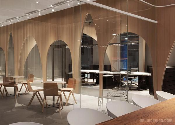 台北市 H&M 办公室设计 台湾 办公空间设计 办公室设计 中国