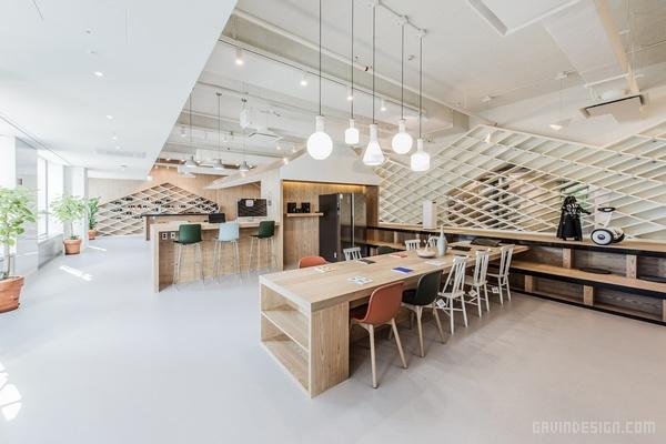 首尔「银河( Galaxy )之家」室内设计 韩国 展厅设计 办公室设计