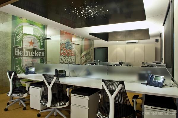墨西哥喜力啤酒酒吧办公室设计 酒吧设计 办公室设计