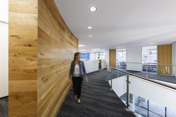 美国加州 ASICS 总部办公室设计 美国 办公空间设计 办公室设计
