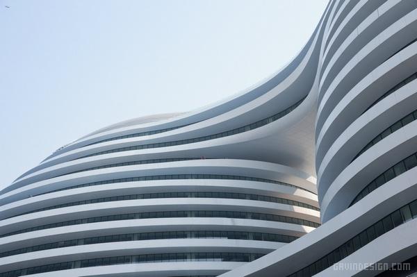 北京银河 SOHO 建筑设计 购物中心设计 综合体设计 商场设计 北京 办公楼设计 中国