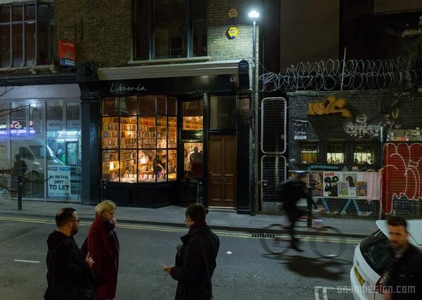 伦敦 Libreria 概念书店设计 英国 店面设计 商业空间设计 书店设计