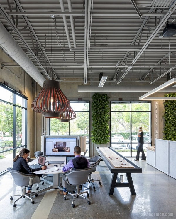 美国加州 BKM 公司总部办公室设计 美国 办公空间设计 办公室设计