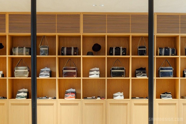 网球品牌 Fred Perry 东京旗舰店设计 日本 旗舰店设计 店面设计 商业空间设计 专卖店设计