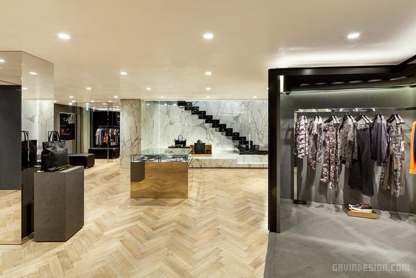 韩国首尔纪梵希旗舰店设计 韩国 旗舰店设计 店面设计 商业空间设计 专卖店设计