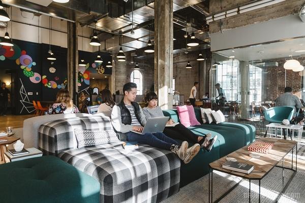 洛杉矶 We Work 联合办公空间设计 美国 办公空间设计 办公室设计