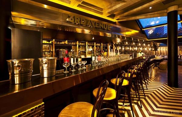 """雅加达格""""第三大街""""酒吧设计 餐厅设计 酒吧设计 商业空间设计"""