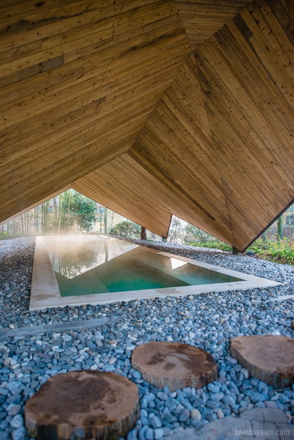 四川绵阳浮生御温泉度假村设计 酒店设计 洗浴中心设计 度假村设计 中国