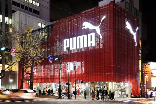 大阪 PUMA 旗舰店设计 日本 旗舰店设计 店面设计 商业空间设计 专卖店设计