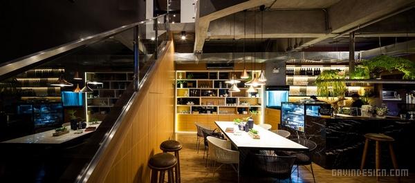 泰国曼谷 Storyline 咖啡厅设计 泰国 店面设计 商业空间设计 咖啡馆设计 咖啡厅设计