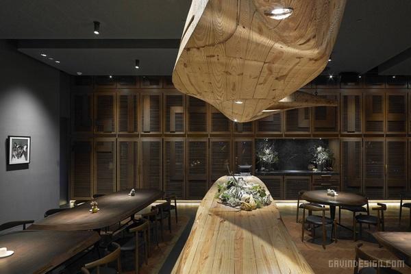 台北 Raw 餐厅设计 餐厅设计 店面设计 商业空间设计 台湾 中国