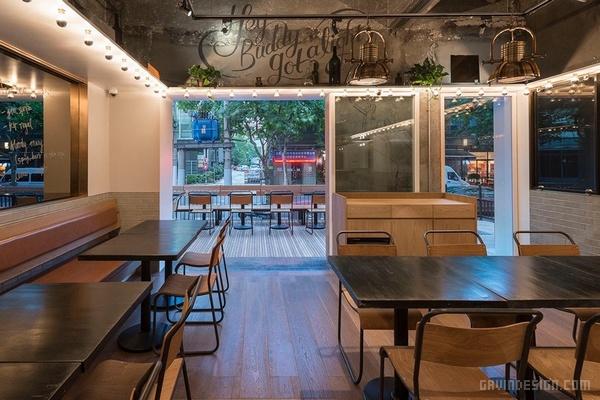 上海静安区 Tribeca 酒吧设计 餐厅设计 酒吧设计 中国 上海