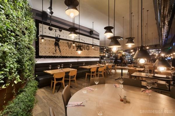 以色列海法 Vivino Italian Quarter 餐厅设计 餐厅设计 店面设计 商业空间设计