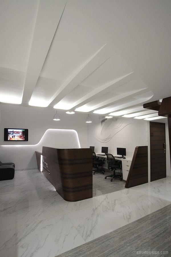 印度孟买 Singa 办公室设计 印度 办公空间设计 办公室设计