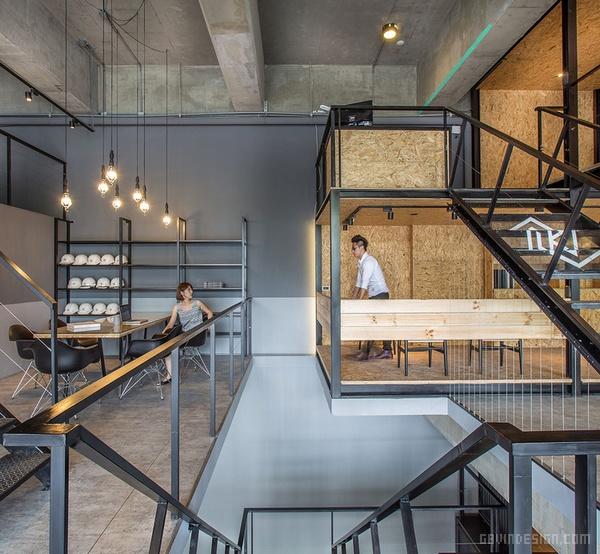 台北市 JC Architecture 办公室设计 台湾 办公空间设计 办公室设计 中国