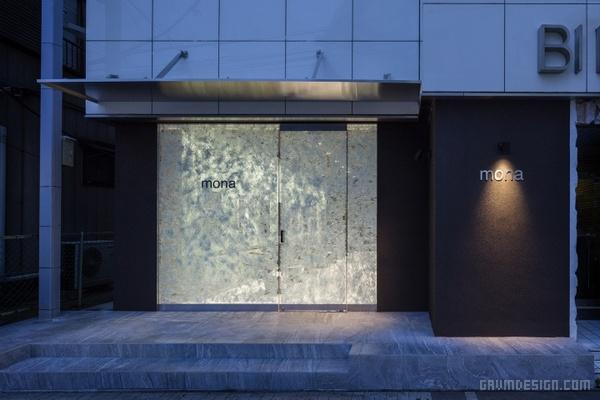 日本小山市 Mona 美发沙龙设计 美发沙龙设计 日本 店面设计 商业空间设计